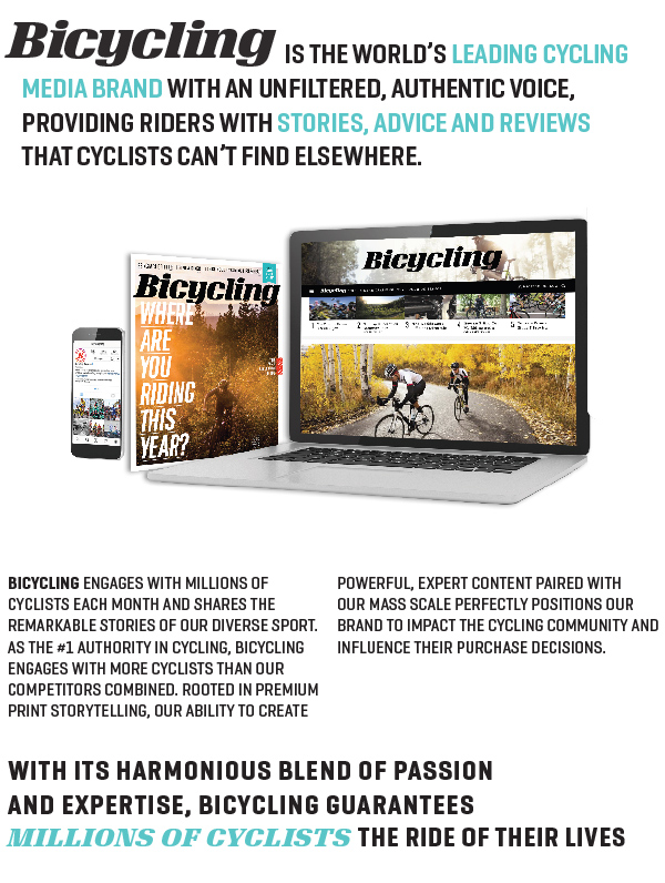 Who We Are - Bicycling Magazine Media Kit
